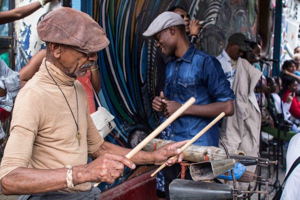 Men in Cuba