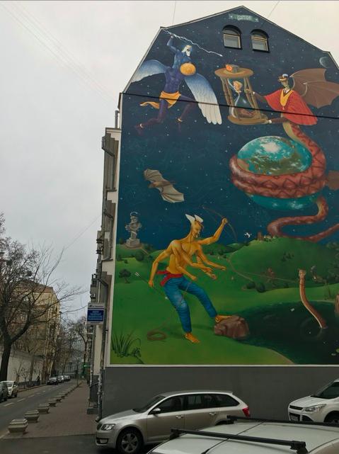 Another breathtaking mural in Kyiv, Ukraine