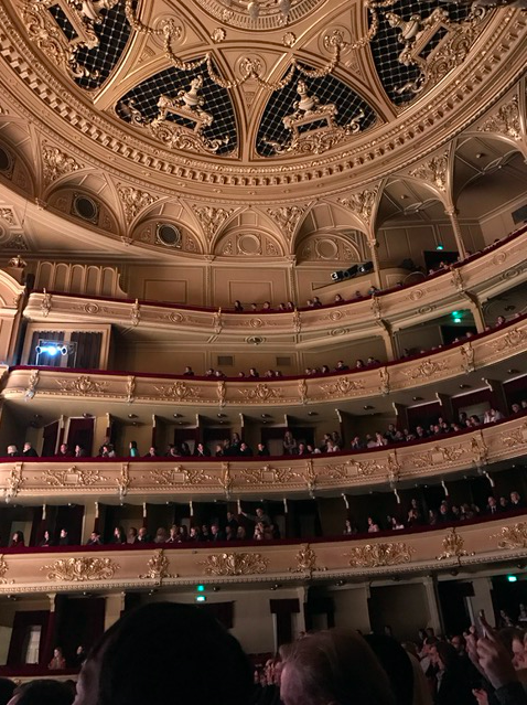 Inside of the Opera House in Kyiv, Ukraine