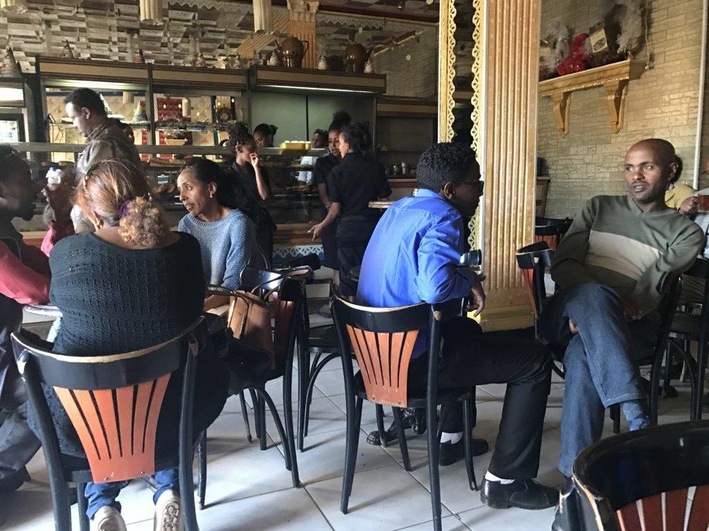 Café culture in Asmara, Eritrea