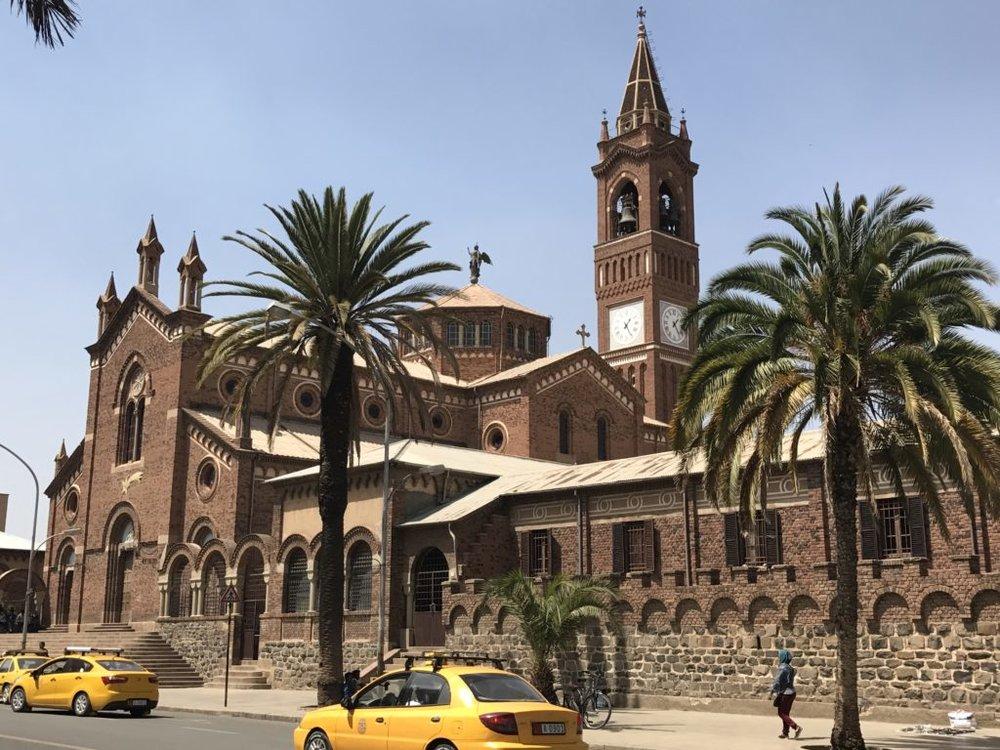 Cathedral in Asmara, Eritrea