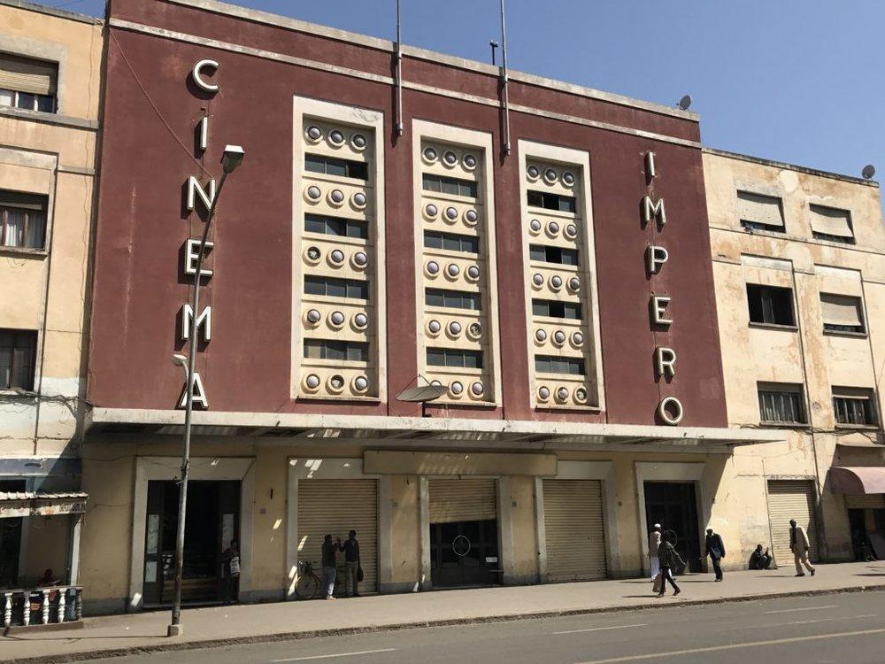 Theater in Asmara, Eritrea