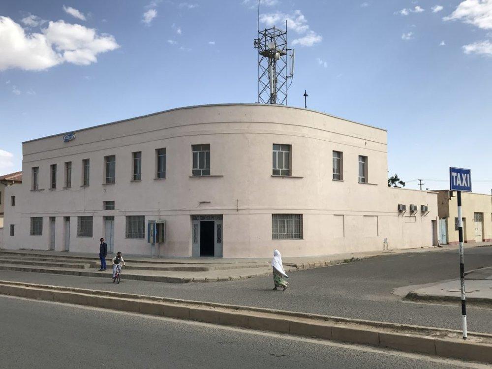Stylish building in Asmara