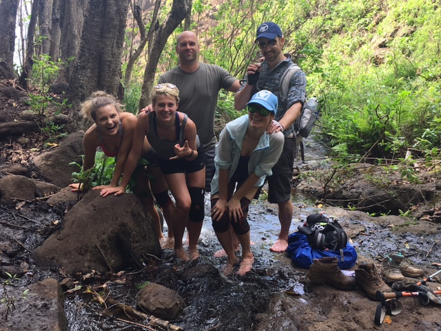 Five Americans in Kauai