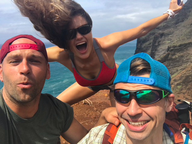 Peter Santenello and crazy people around in Kauai
