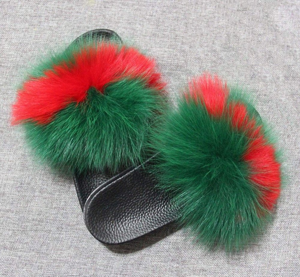 SCW Interiors Life Hacks Blog Post : My Holiday Wish List that includes these fox fur house shoes