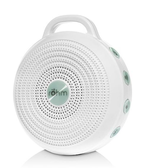 SCW Interiors Life Hacks Blog Post : Guest Bedroom Remedies 101 including a white noise machine by Rohm