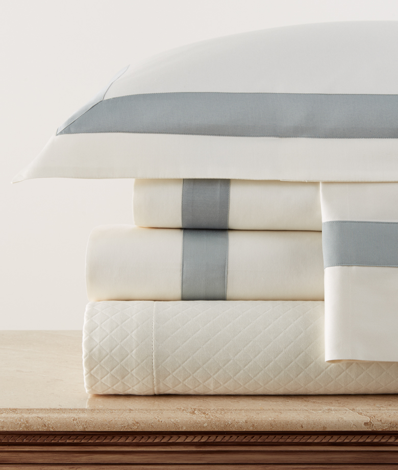Legacy Linens Sedona sheets can be special ordered at the SCW Showroom