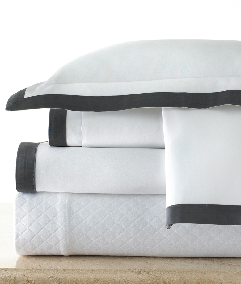 Legacy Linens Sutherland sheets can be special ordered at the SCW Showroom