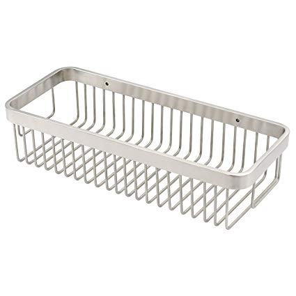 WEBI's  Rectangular Wire Storage Shelves  can be found in a variety of sizes. The 12.5-inch version is pictured here.