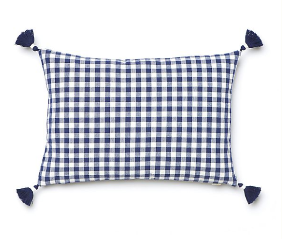 Anthropologie Gingham Pillow.PNG