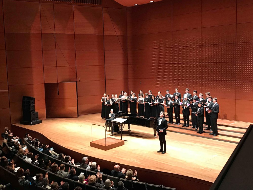 Alice Tully Hall, Lincoln Center, New York, New York. Yuhan Wang