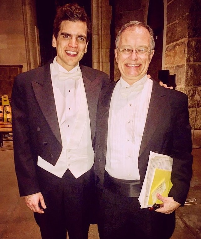 Kent Tritle & Bryan Zaros, Cathedral of Saint John the Divine, New York, New York