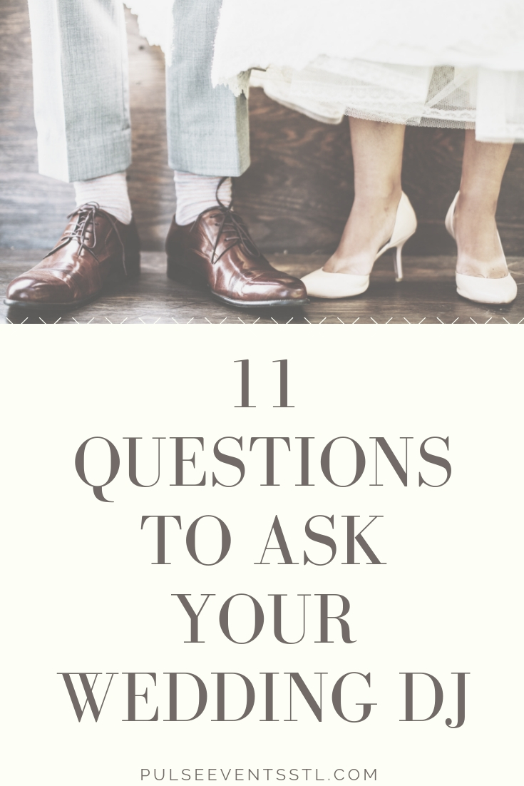 Questions To Ask Wedding Dj.11 Questions To Ask Your Wedding Dj Pulse Events St Louis