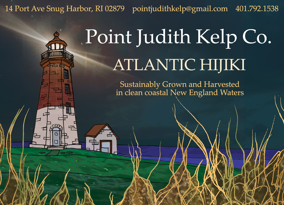 Product Label for Point Judith Kelp Co.