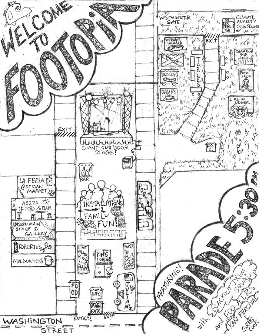 Foo Fest Map