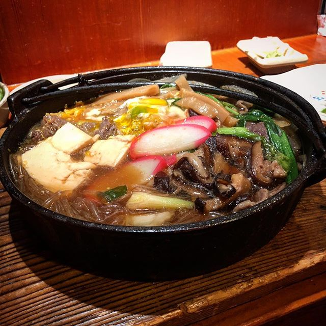 Sukiyaki time. — #japanesefood #sukiyaki #foodie #comfortfood