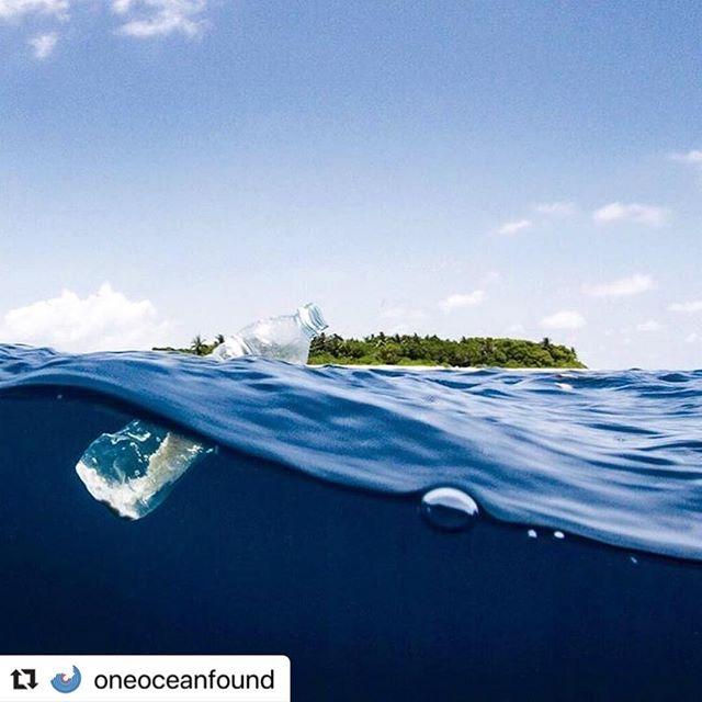 Say No to plastic, to send a #good message! . 📷 : @oneoceanfound . #goodblue #plasticocean #noplastic #saynotoplastic #begood