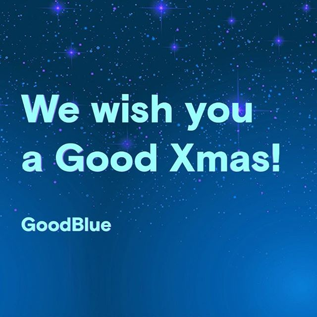 #Good Xmas everyone! 💙  Our calendar:  24-25-26-31  Dec. (Closed) 1-6 Jan. (Closed)  every other day, as usual.