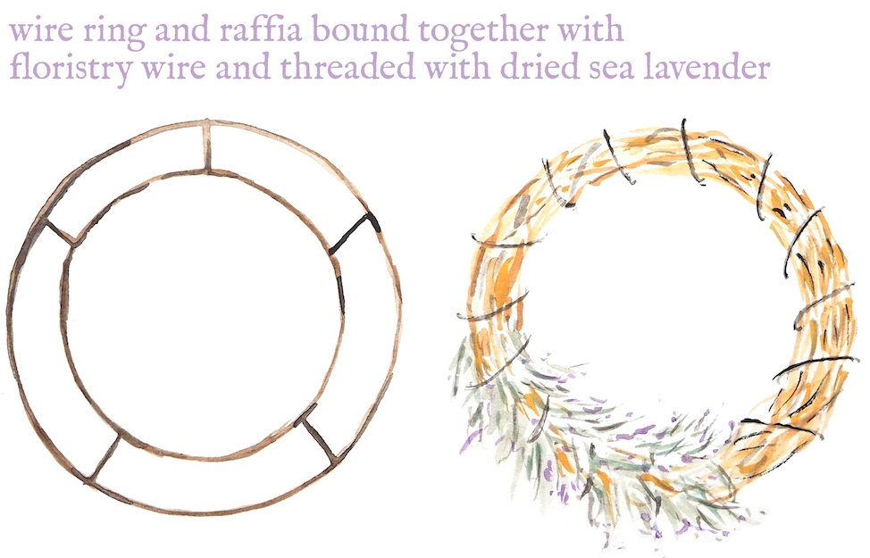 Two work in progress wreaths.jpg