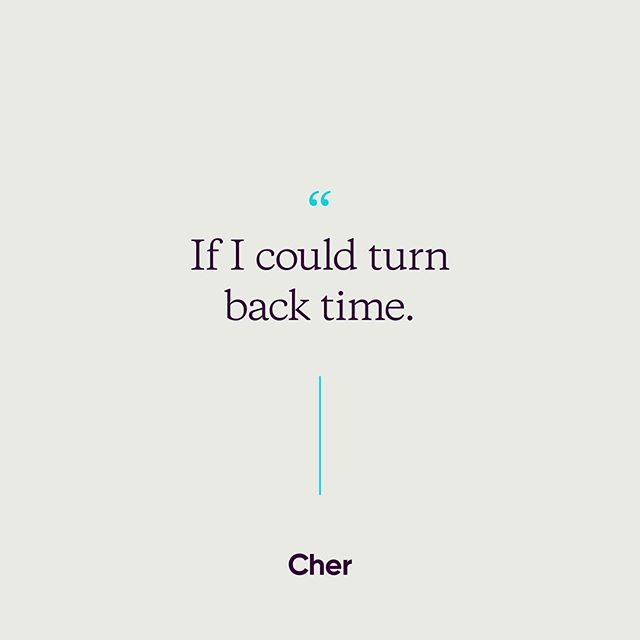 Bet you can't get that song out of your head now 💁🏻‍♀️ Don't forget to turn back the time, daylight savings ends this Sunday morning. Yay for an extra hour for sleeping in 🛏  #cher #extrasleep #daylightsavings