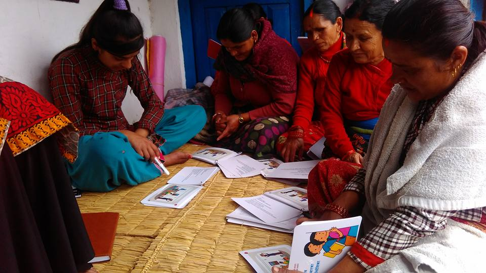Peer education training in Kaski District.jpg