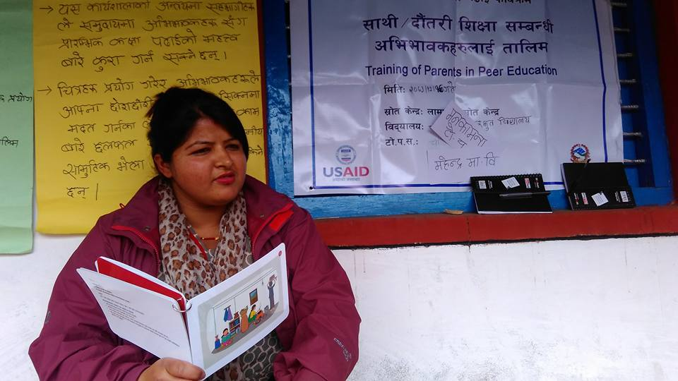 Peer education training in Kaski District 1.jpg