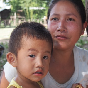 """If I was given the chance to have full control of my life, I would finish schooling. I think my life today would be different,""  – Mother in Ban Sa-phang"