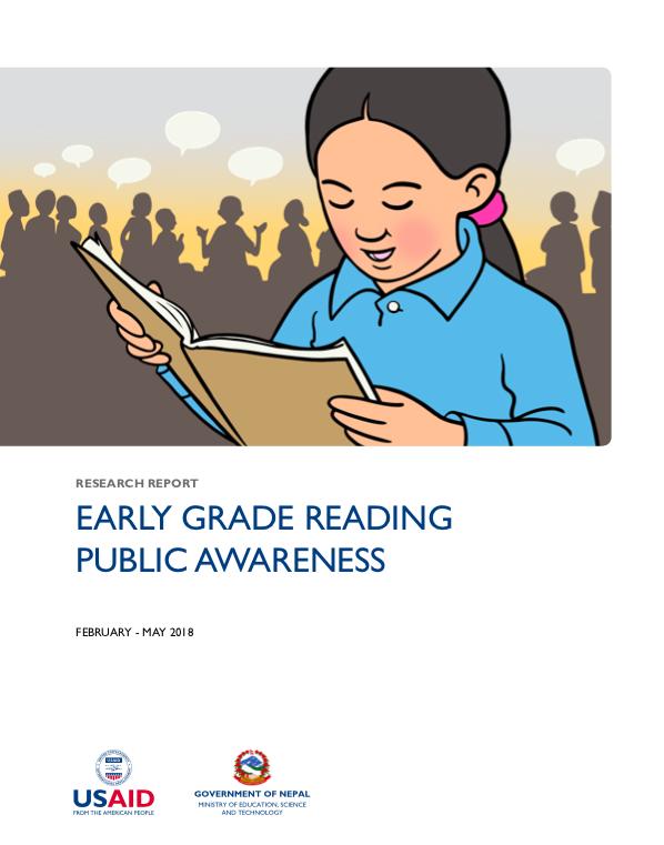 EARLY GRADE READING PUBLIC AWARENESS