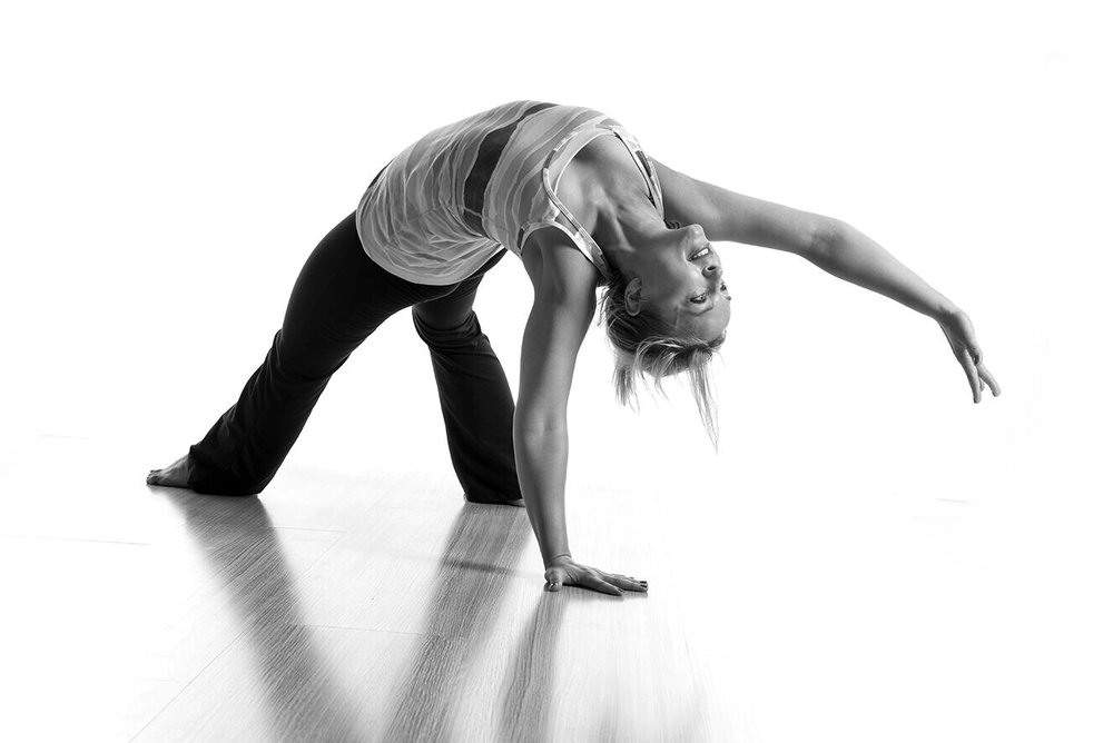 "YOGA -Dorota Rozko - ""A wise girl knows her limits, a smart girl knows that she has none."