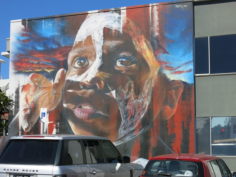 30 International & National artists painted large scale murals through out the city of Toowoomba.