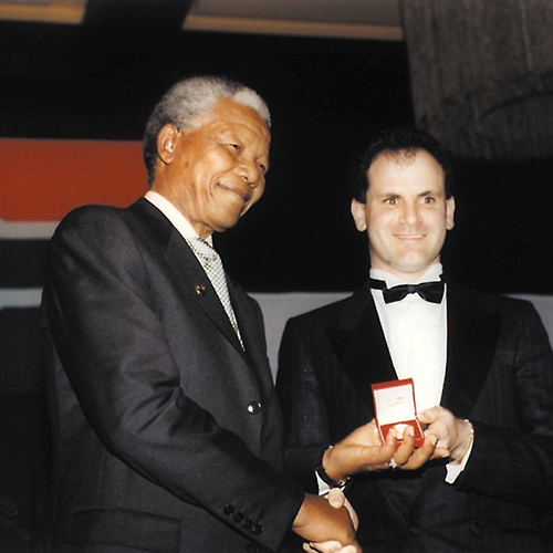 James Urdang and Nelson Mandela Award.jpg