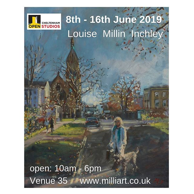 I will be opening my studio 8th - 16th June as part of the Cheltenham Open Studios biennial art trail. . . There are 200 artists taking part in 79 venues around Cheltenham. . . Pick up your free guidebook from Cheltenham Waterstones, Chapel Arts, Suffolk Anthology, Dodwells on Bath Road, The Gardens Gallery, Montpellier. . . You can also download your guidebook here:- https://cheltenhamopenstudios.org.uk/guide/  @chapelartschelt @thesuffolkanthology @gardensgallery @cheltenham_waterstones  #cheltenhamopenstudios2019 #cheltenhamopenstudios  #cheltenham #cheltenhamlife #cotswolds #cotswoldlife #thingstodoincheltenham #painting #artistsoninstagram