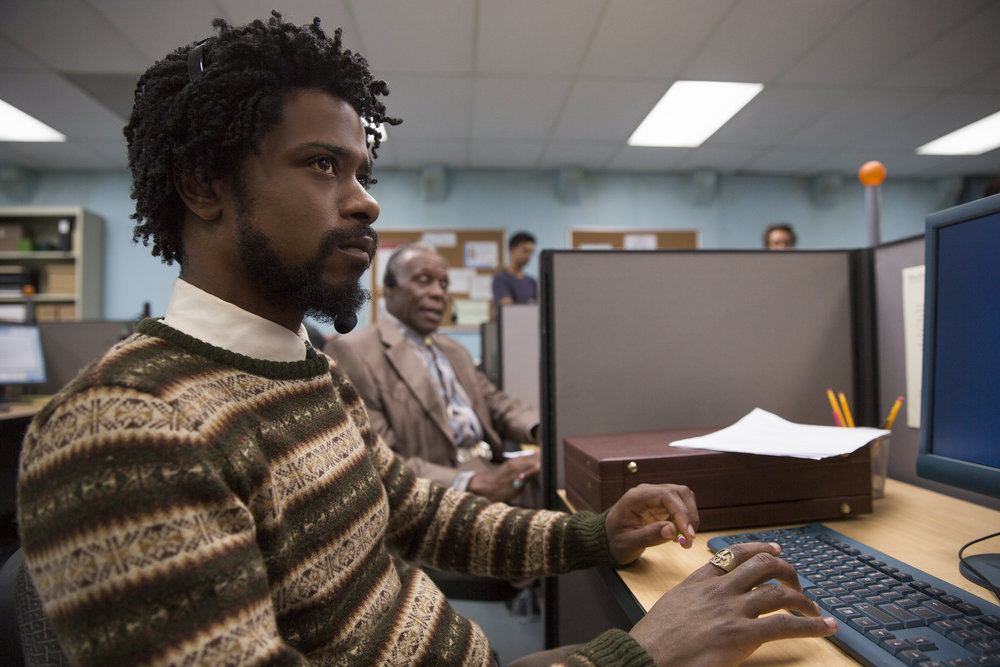 Lakeith Stanfield and Danny Glover in Sorry to Bother You Credit: Peter Prato/Annapurna Pictures