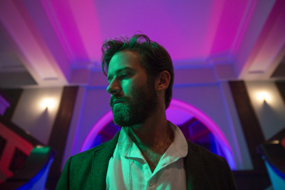 Armie Hammer as prosperity gospel slave labor guru Steve Lift in Sorry to Bother You Credit: Peter Prato/Annapurna Pictures