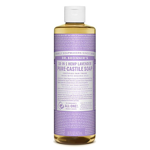 Dr. Bronner's Lavender Castile Soap -