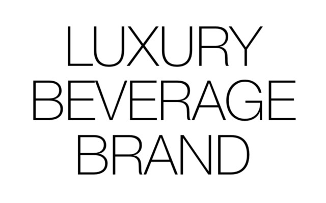 LUXURY BEVERAGE - Luxury Beverage Brand for the global market. An exclusive product produced with best quality and passion.