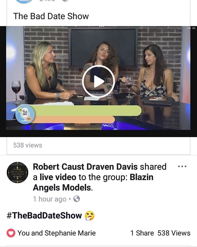 538 views in 2 hours?!!! YESSSS!! We love you guys so much💞💞💞 * * * * * #thebaddateshow #bds #BangOrBust #onlineradio #internetradio #podcast #datingadvice #onlinedating #relationships #relationshipadvice #sex #sexadvice # #fblive #iglove #talkshow #love #liveshow #tunein #prettygirls #ladyboss #beautifulwomen #beauty #girltalk