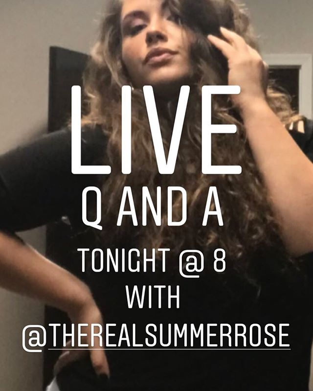 Hang out and get your questions answered with our Producer and Host @therealsummerrose tonight at 8pm! ☀️🌹 * * * * * #thebaddateshow #bds #BangOrBust #onlineradio #internetradio #podcast #datingadvice #onlinedating #relationships #relationshipadvice #sex #sexadvice # #fblive #iglove #talkshow #love #liveshow #tunein #prettygirls #ladyboss #beautifulwomen #beauty #girltalk #sexy #satisfied #qanda #producer #host #therealsummerrose