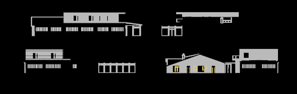 Baupläne mit Sanierung und Anbau