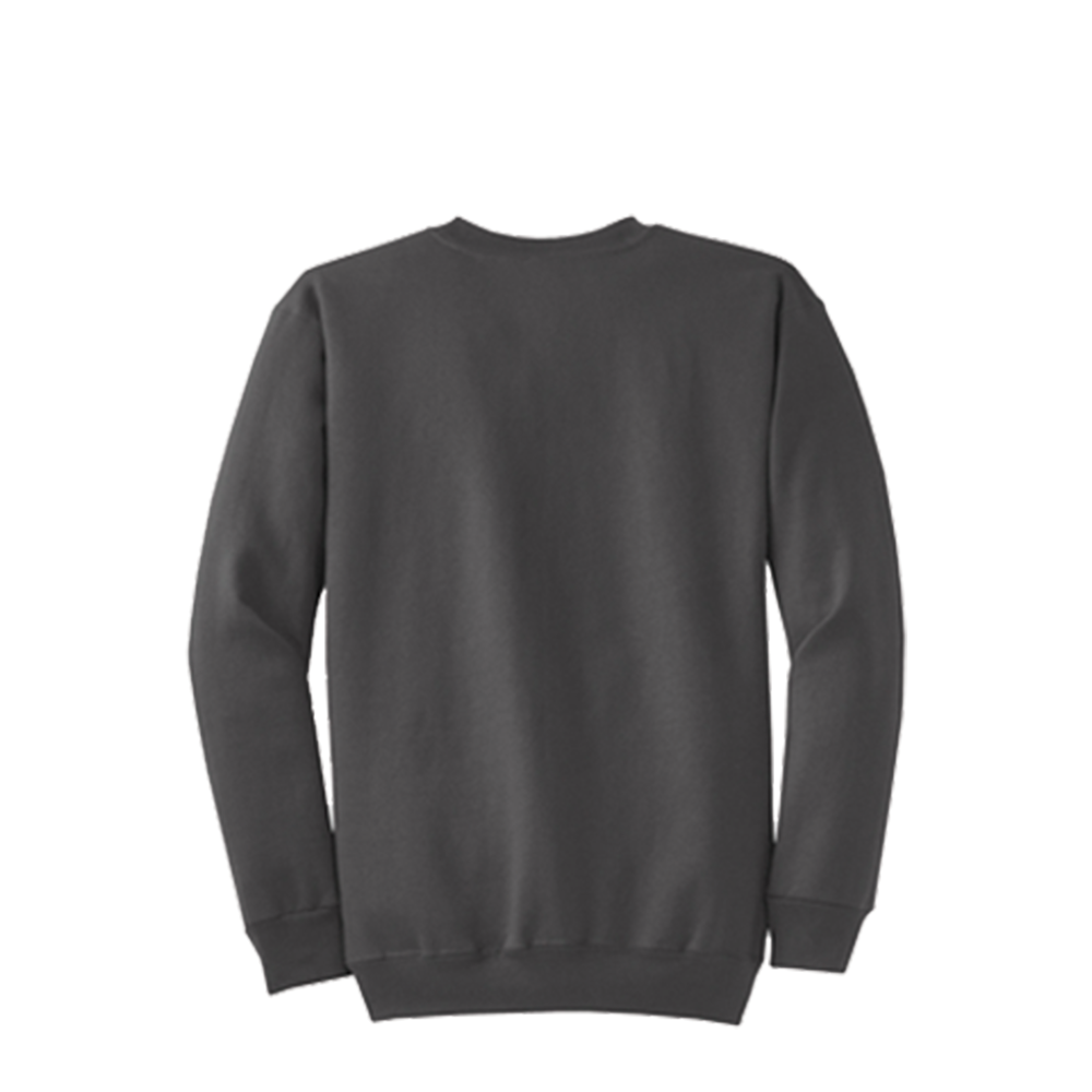 Classic Crew - ADULT [S - 4XL]  Youth [XS-XL]  50/50 cotton/poly fleeceAir jet yarn for a soft,pill-resistant finish