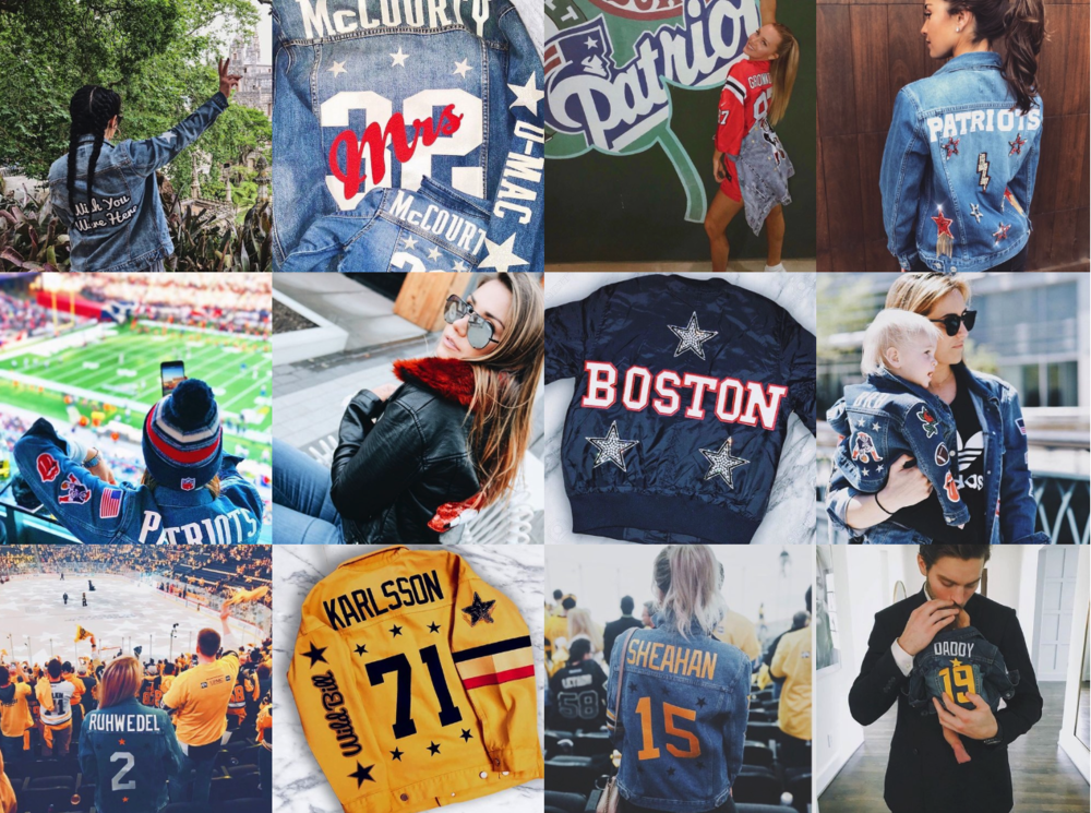 2. Get Inspiration - You may already have a design in mind, but don't be afraid to get inspired by some of the custom BROdenim designs we've created.Check out our gallery for inspiration.