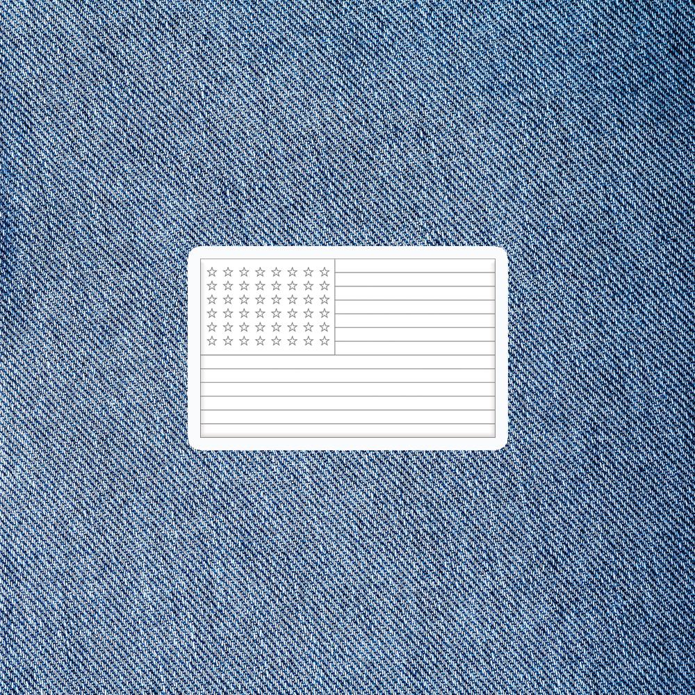 Arm Flag Patch - $5