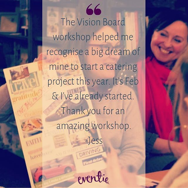 Fantastic feedback from Jess 💝 It's never too late to chase your dreams. It starts with having a vision 💫  #visionboardworkshop #visionboard #personaldevelopment #entrepreneur #host #goalsetting #liveyourbestlife #sheffield #londonevents #thingstodoinlondon #lifecoach #lifecoaching #feedback #goals #lifegoals #selfcare #selfdevelopment