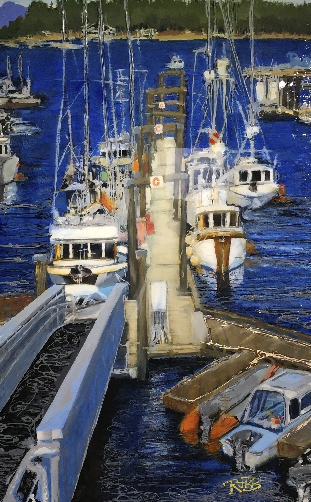 Copy of Collection:  Herring Boats No. 2  2014