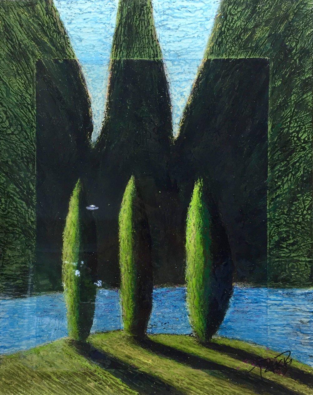 Three Trees  2011-15