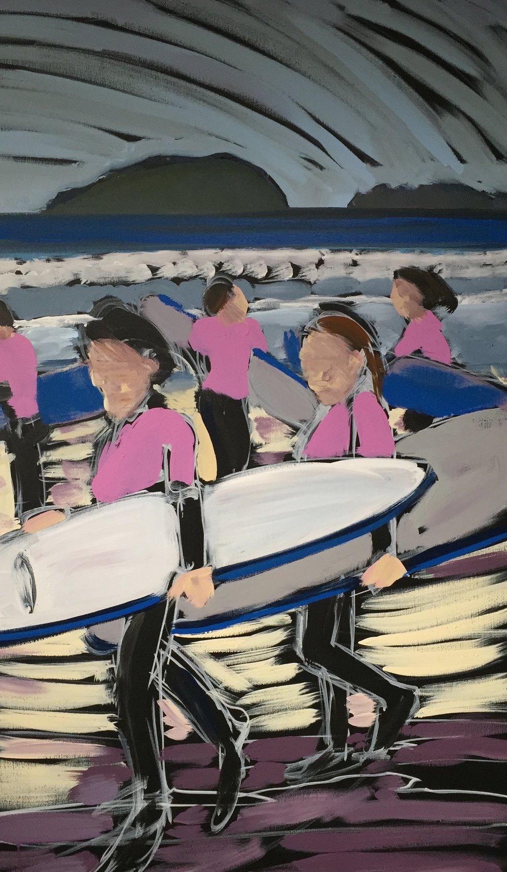 Surf Sisters No. 2/3  2013 - 2018