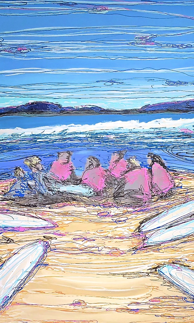 Surf Sisters No. 3/3  2013 - 2018
