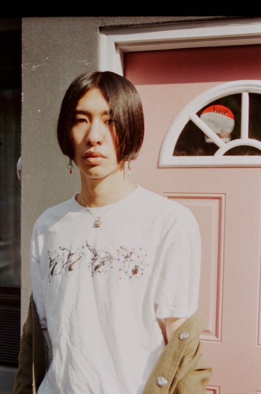 Patrick Chen - 35mm photo by Luke Lauren