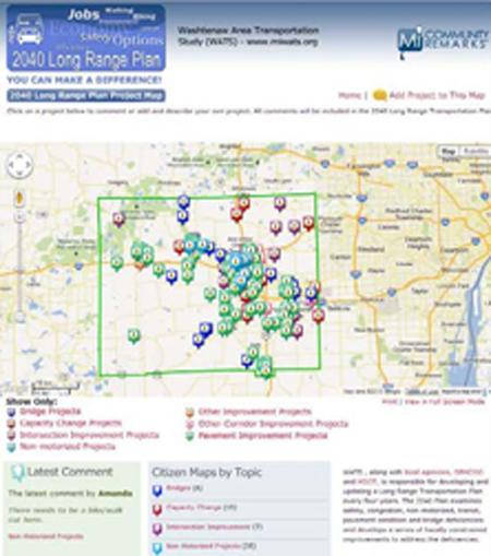 The Washtenaw Area Transportation Study Blog Post